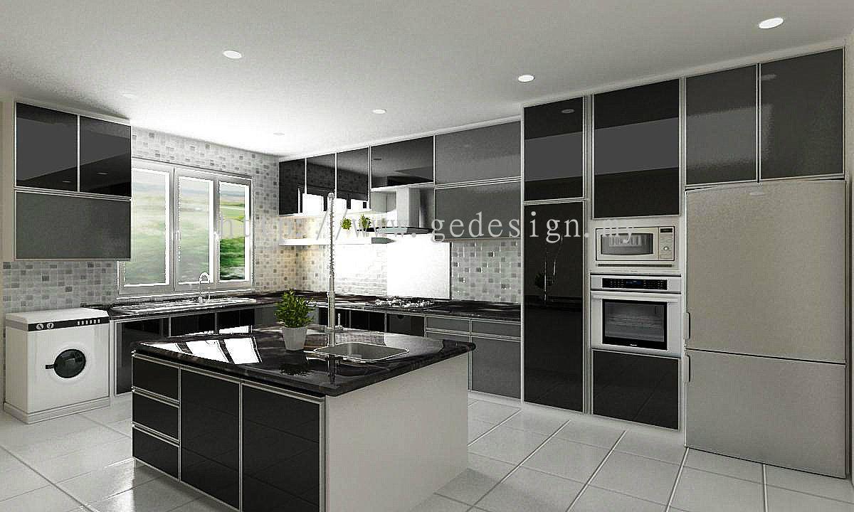 Selangor Kitchen Interior Design Daripada Ge Design Build