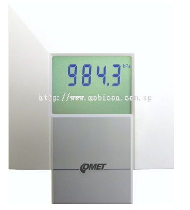Mobicon-Remote Electronic Pte Ltd:T2218 Interior barometer with 0-10V output