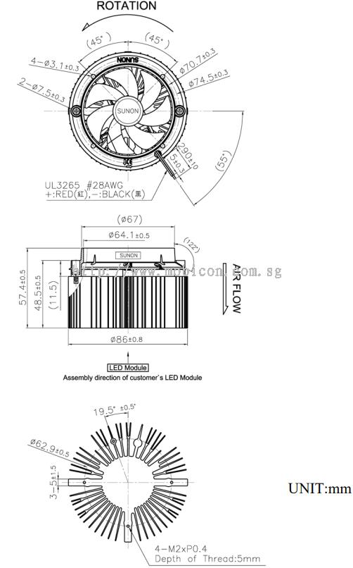 Mobicon-Remote Electronic Pte Ltd:LA004-017A83DY