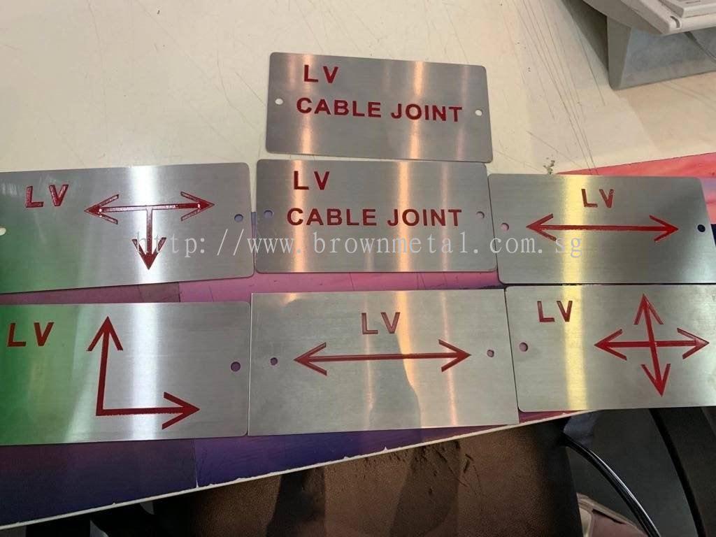 Brown Metal Engineering Pte Ltd:Etching plate