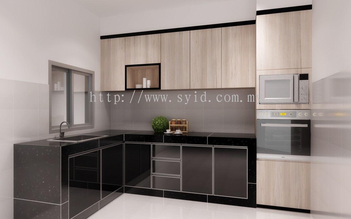 Johor Wet Dry Kitchen Design Daripada Sy Interior Design Build