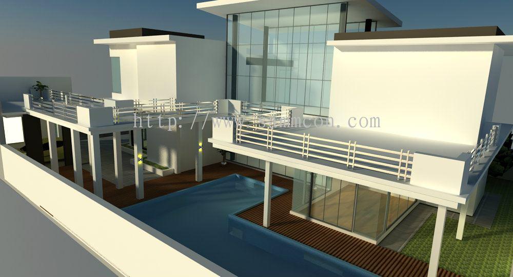 Johor design for the exterior of house east ledang for Home design johor bahru