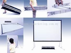 Foldline Portable Screen