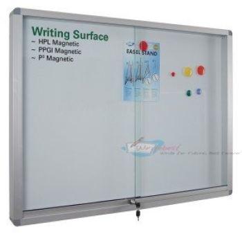 Whiteboard (Aluminium Frame Cabinet)