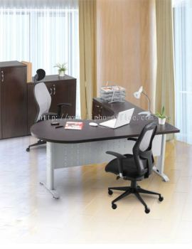 The Eco Kidney L-Shaped Managerial Table