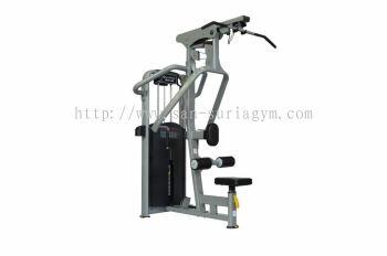 Lat pull+ Low row machine