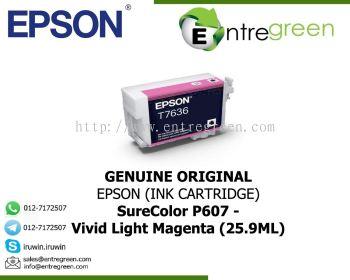 SureColor P607 - Ink Cartridge (Vivid Light Magenta-25.9ML)