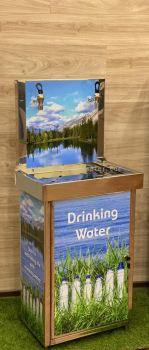 Direct Pipe-In Stainless Steel Drinking Water Fountain