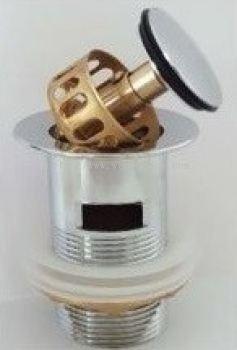 Brass Pop Up Waste w Filter BPW32F