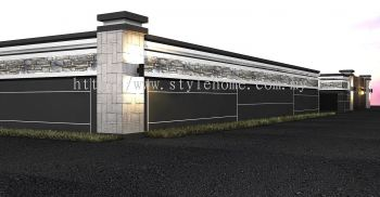 fencing sturcture design by Stylehome