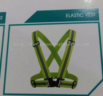 Safety elastic vest