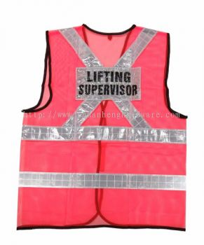 Safety Vest with Designation
