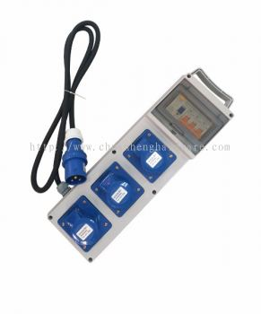 Outdoor PVC distribution box 220V