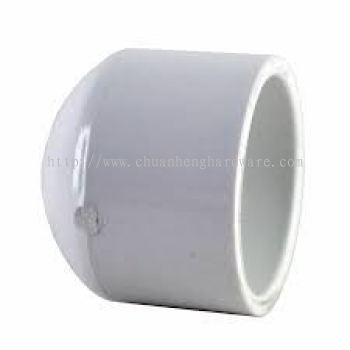 PVC END CAP 4 INCH