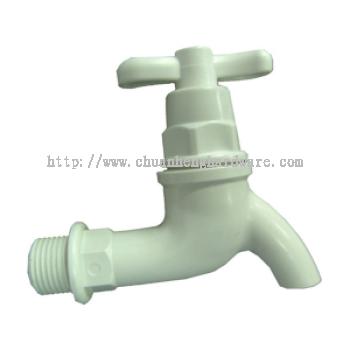 "PVC WATER TAP 1/2 """
