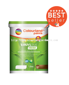 VINYL SILK FRESH COLOUR LAND PAINT