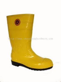 kasut getah kuning