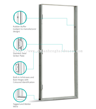 METAL DOOR FRAME