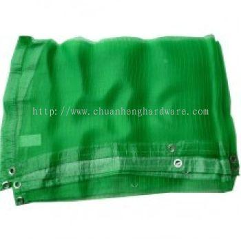 PVC CONSTRUCTION SAFETY NETTING 1.83M (W) X 5.1M (L) (GREEN
