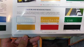 Colourland roadline paint