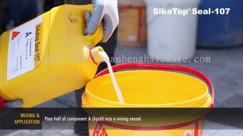 sika 107 waterproofing