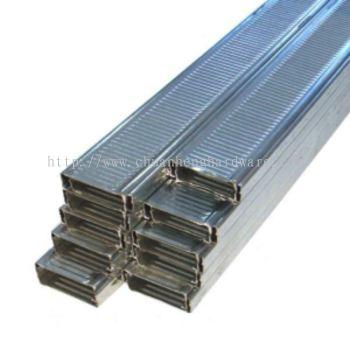 partitition zinc bar