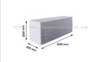 batu Ringan 100 mm x600mm