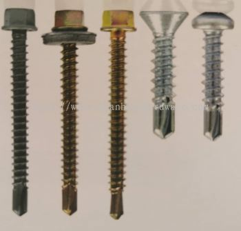 Hex Head Self Drilling Screw with Washer