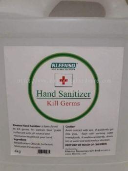kleenso hand sanitizer 4kg