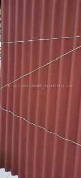 Abestor cement odour line red