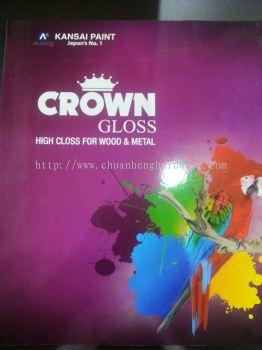 kansai crown gloss high class for wood & metal 3
