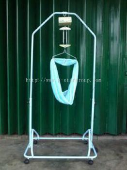 Double Baby Hanger With Roler(MH-9000W)
