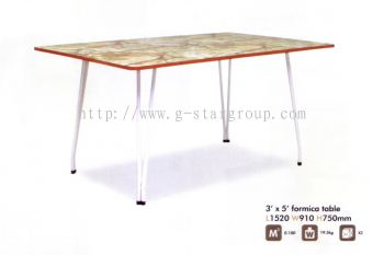 Formica Table 3 X 5