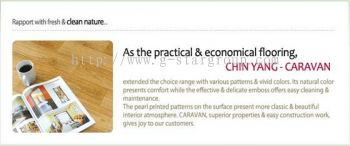 PVC FLOOR COVERING(MADE IN KOREA -CARAVAN)