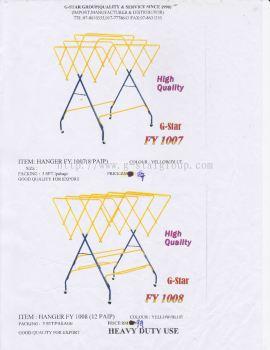 Hanger 1007 and hanger 1008
