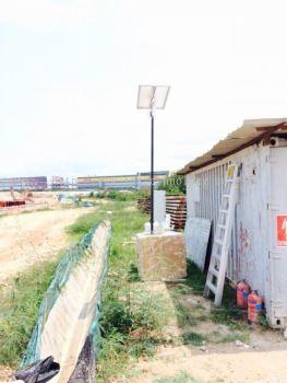 Solar CCTV Monitoring System