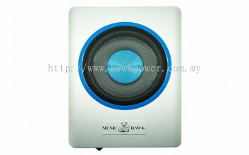 "MH-8.80 Music Hawk 8"" under seat active subwoofer"