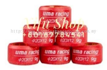 PULLEY ROLLER UMA RACING NOUVO LC 20X12 (8G)(02P00430)