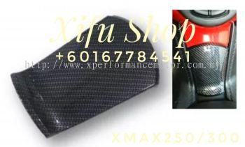 FUEL TANK COVER 07 XMAX250 CARBON SS-     (.     )