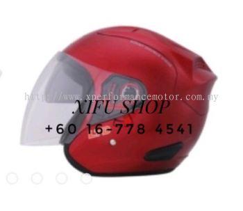 Ltd Double Visor Red