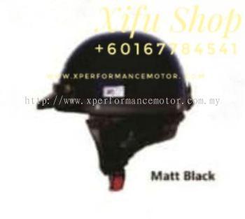THREE QUARTER HELMET MHR MATT BLACK (.   )
