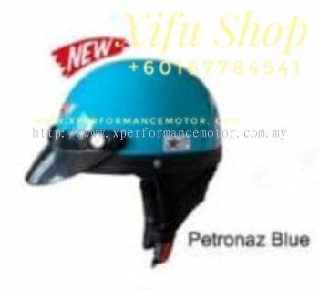 THREE QUARTER HELMET MHR PETRONAZ BLUE (.   )