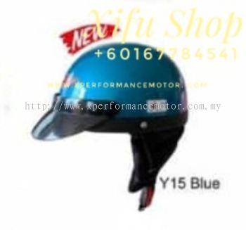 THREE QUARTER HELMET MHR Y15 BLUE (.    )