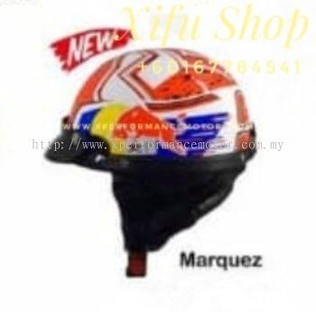 THREE QUARTER HELMET MHR GRAPHIC MARQUEZ (.    )