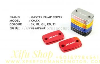 FRONT BRAKE MASTER PUMP COVER ACCESSORIES CNC YAMAHA XMAX250/300