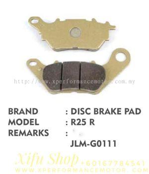 REAR DISC BRAKE PAD YAMAHA R25/R3