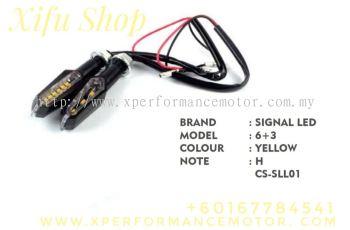 SIGNAL LED ASSY 6+3 YELLOW CS-SLL01