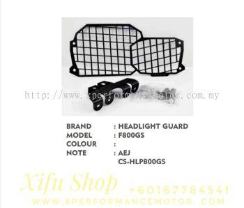 HEAD LIGHT PROTECTOR GUARD ACCESSORIES F800GS CS-HLP800GS