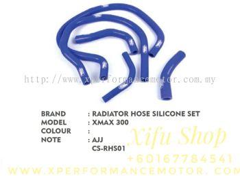 RADIATOR HOSE SET SILICONE XMAX250/300 CS-RHS01