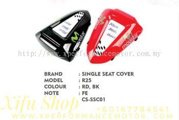 SINGLE SEAT COVER ACCESSORIES YAMAHA R25/R3 CS-SSC01